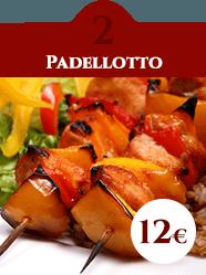 formula pranzo Padellotto