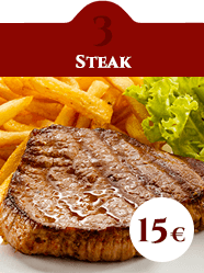 formula pranzo Steak