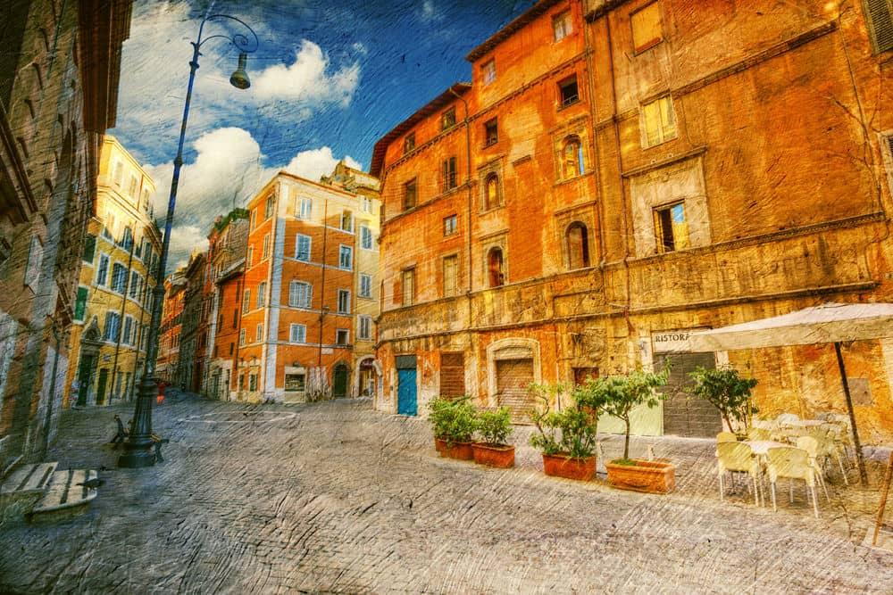quartiere ebraico di roma