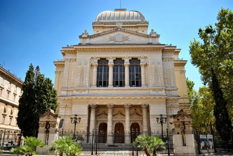 sinagoga quartiere ebraico di roma