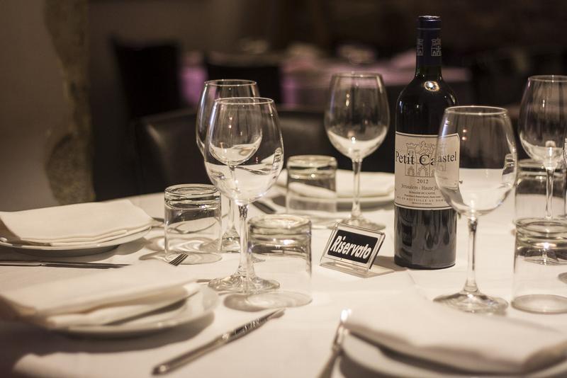 ristorante ebraico roma interni