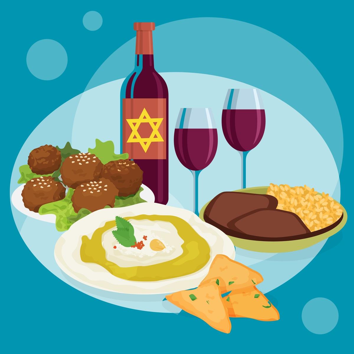 Cucina ebraica curiosità